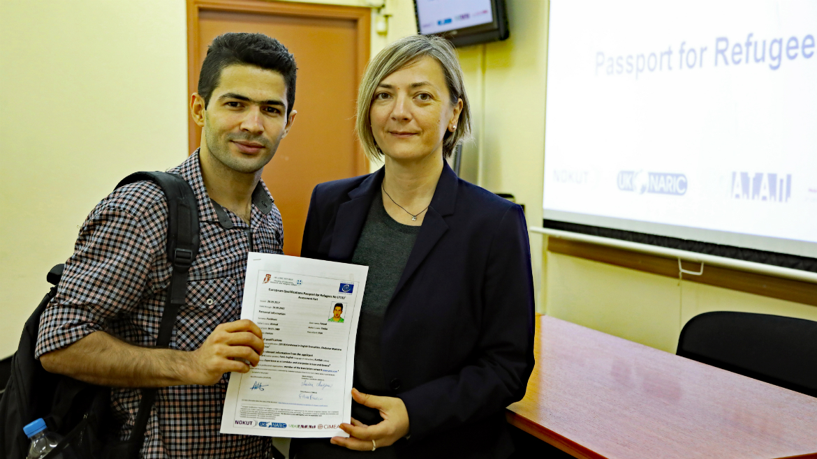 Third-evaluation-session-held-in-Greece---European-Qualifications-Passport-for-Refugees---Photo-14