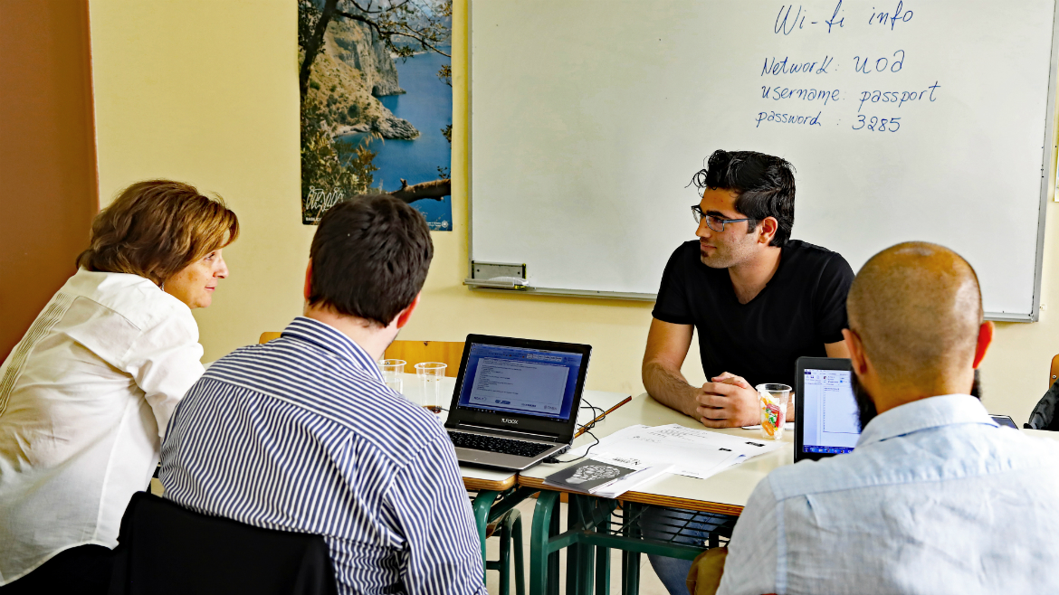 Third-evaluation-session-held-in-Greece---European-Qualifications-Passport-for-Refugees---Photo-5